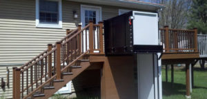 Wheelchair lift (porch lift, vpl)