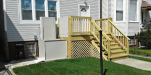 Vertical platform lift - porch lift